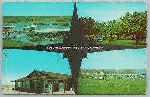Clinton Oklahoma~Foss Reservoir~Boats~Marina~60s Truck~Ice Pop Machines~1961