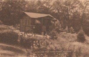 THREE RIVERS , Michigan , 1900-10s ; Camp Lone Tree
