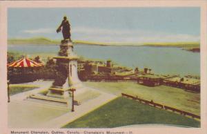 Canada Quebec Champlain's Monument