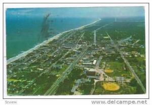 Aerial View, South, Myrtle Beach, South Carolina, 1965