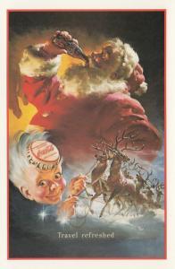 Coca Cola Santa Claus , 80-90s #4