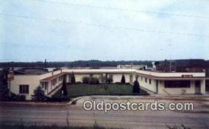 Duvall Motel, Clarksville, MO, USA Motel Hotel Postcard Post Card Old Vintage...