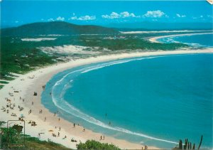 Brazil Costa Azul Cabo Frio panoramic view postcard