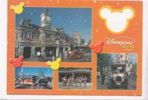 Disneyland Resort, Paris, used Postcard