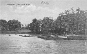 Plattmount Park from River New York