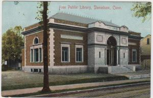 1223 CT Danielson 1906  Free public library