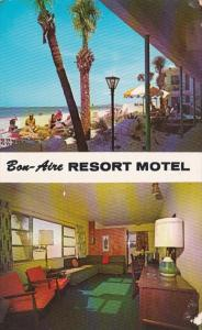 Florida St Petersburg Bon-Aire Motel 1969