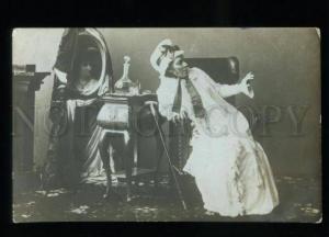 135132 SLAVINA Russian OPERA Star SINGER Queen of Spades PHOTO