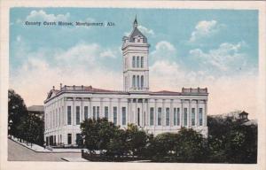 Alabama Montgomery County Court House