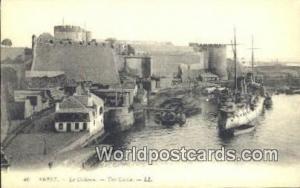 Brest, France, Carte, Postcard Le Chateau, The Castle Brest Le Chateau, The C...