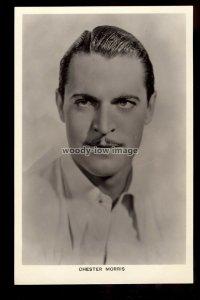 b1644 - Film Actor - Chester Morris - Picturegoer No. 476a - postcard
