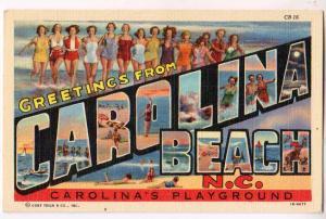 Large Letterr, CAROLINA BEACH NC