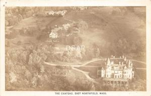 A57/ East Northfield Massachusetts RPPC 1946 The Chateau Birdseye View