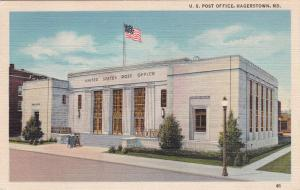 HAGERSTOWN, Maryland, 1930-1940's; U.S. Post Office