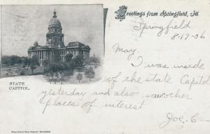 SPRINGFIELD , Illinois , 1906 ; State Capitol