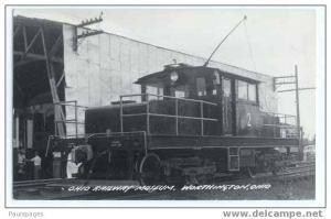 RPPC, #2 Electric Switcher, Ohio Railway Museum, Worthington, OH,  Kodak Paper
