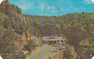 Vista Of Entrance To The Cave Winds Pikes Peak Region Colorado 1975