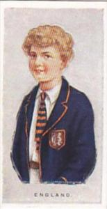 Wills Vintage Cigarette Card Children Of All Nations 1925 No 15 England