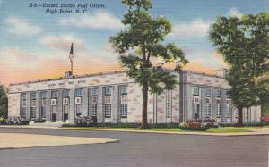 HIGH POINT, North Carolina; United States Post Office, 30-40s