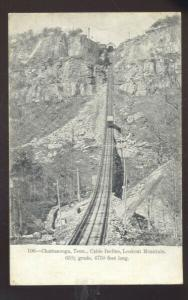 CHATTANOOGA TENNESSEE CABLE INCLINE LOOKOUT MOUNTAIN VINTAGE POSTCARD
