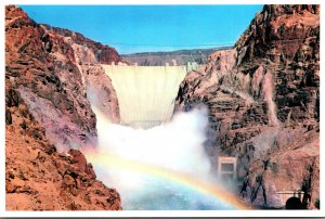 Nevada/Arizona Hoover Dam Rainbow