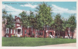 BLOOMINGTON, Illinois, 1910-1930s; Brokaw Hospital