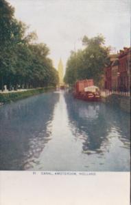 Netherlands Holland Canal Scene