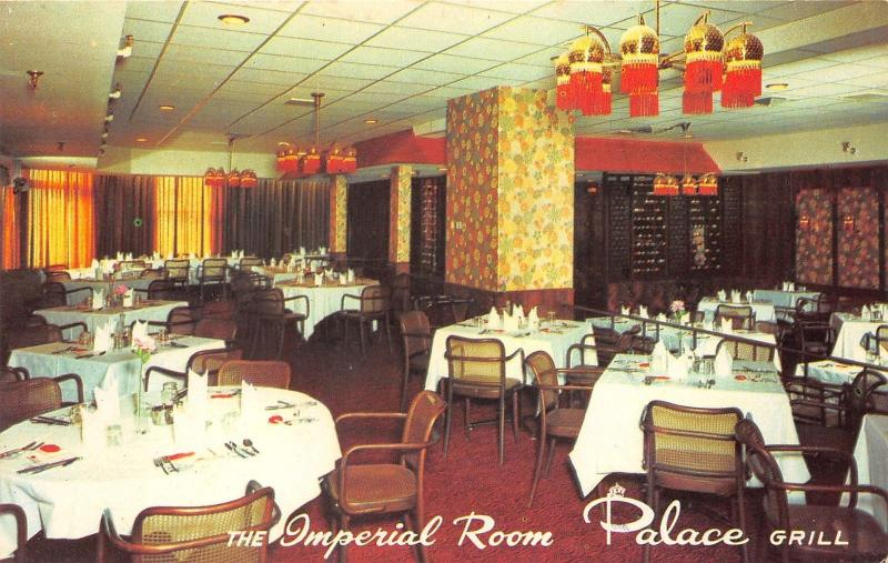 Moncton New Brunswick~Palace Grill~Chinese-Seafood-Red Brand Steaks~Postcard