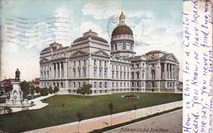 State Capitol Building Indianapolis Indiana 1908