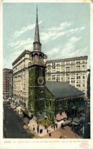 Old South Meeting House Boston MA unused