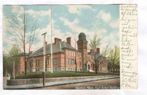 High School Building, Tauton, Massachusetts, PU-1905