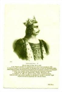 Charles V, Fils De Jean Le Bon, Ne En 1337, France, 1900-1910s