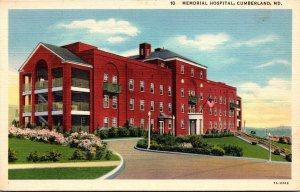 Maryland Cumberland Memorial Hospital Curteich