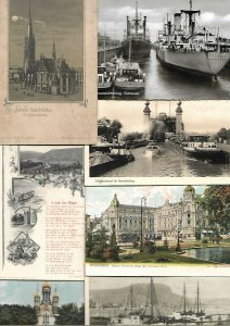 Germany Wiesbaden Remagen Köln München Hamburg Kleve Postcard Lot of 160+ 01.16