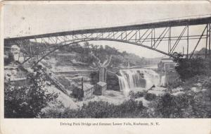 ROCHESTER, New York, PU-1910; Driving Park Bridge And Genesee Lower Falls