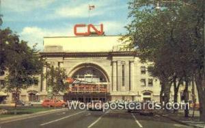 Winnipeg Canada, du Canada CN Station  CN Station