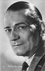 Actor Henri Rolland