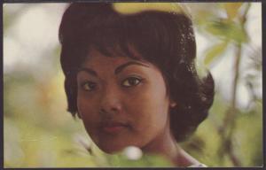 Hawaiian Woman Postcard BIN