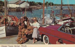 Sponge Industry, Sponge Fleet, TARPON SPRINGS, Florida, 40-60'