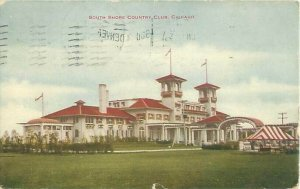 South Shore Counrty Club, Chicago IL Postcard Postmarked 1912