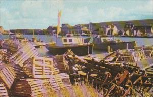Canada Nova Scotia Grand Etang Harbor