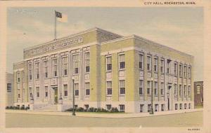 Exterior, City Hall, Rochester,  Minnesota, 30-40s
