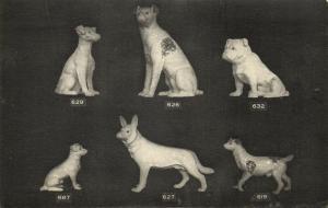 france, DIVES-SUR-MER, Poterie de Normandie, Pottery, Dog (1910s)