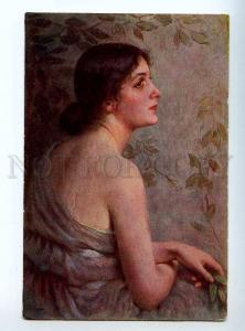 224696 RUSSIA STEMBER Jewess Prokudin-Gorsky vintage postcard