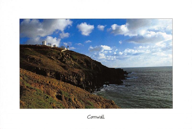 Postcard The Lizard Lighthouse, Cornwall, Large Format H60
