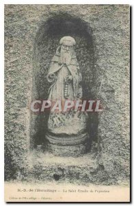 Old Postcard Lady of the Hermitage of the Holy Hermit Peyrotine