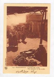 MEKNES, Morocco, L'entree des Souks, 00-10s