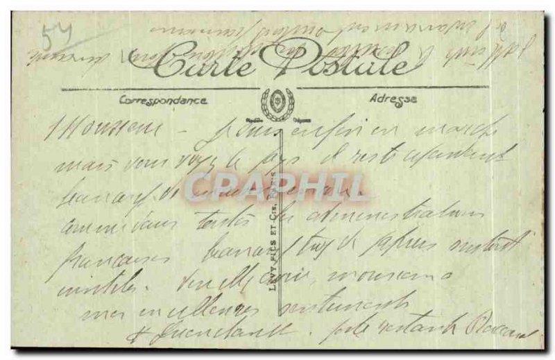 Old Postcard Ruins Of War Grante Baccarat La Grande Rue bombardie by the Germ...