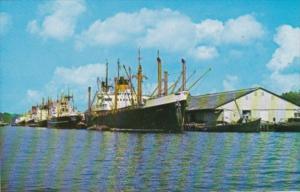 Singapore Harbour Scene