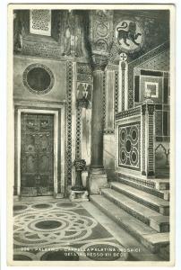Italy, Palermo, Cappella Palatina, Mosaici Dell'ingresoo, unused real photo